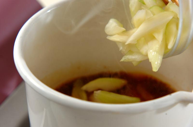 セロリの四川中華漬けの作り方1