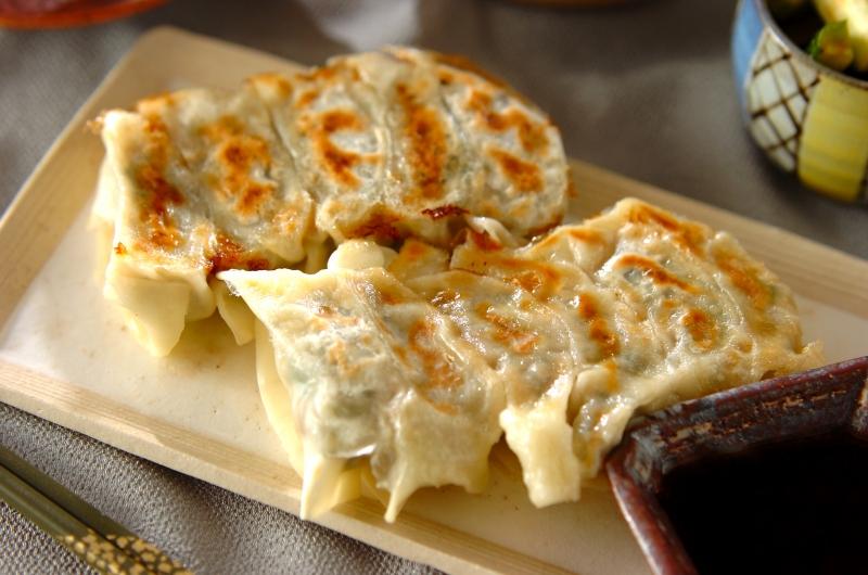 小松菜たっぷり餃子