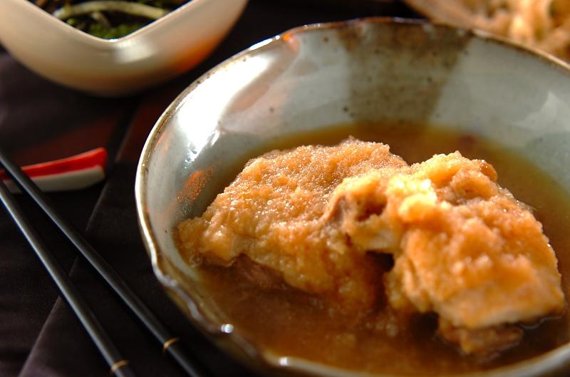 鶏肉のおろし煮の作り方の手順