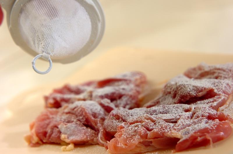 鶏肉のおろし煮の作り方1