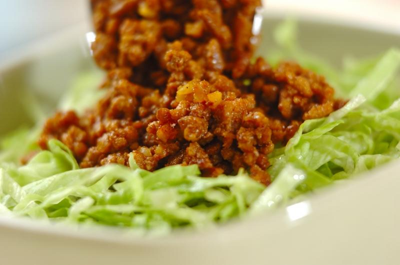 タコライス丼の作り方の手順3