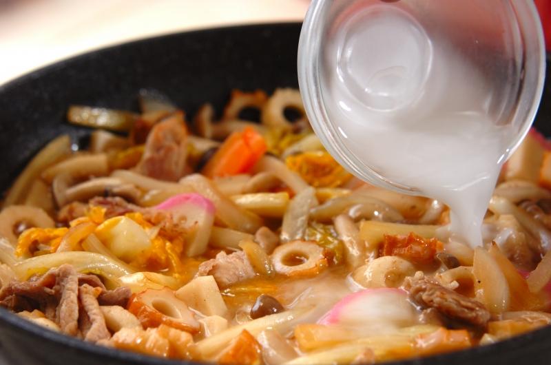 白菜たっぷり皿うどんの作り方の手順6