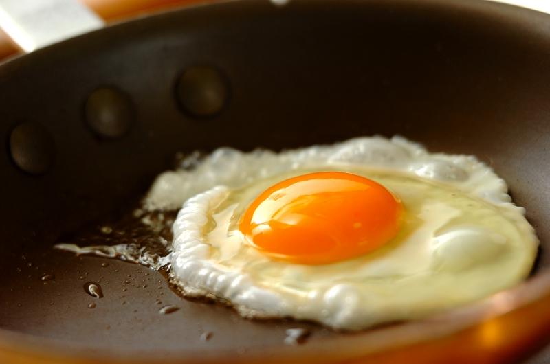 半熟卵のせネギたっぷりお好み焼きの作り方の手順8