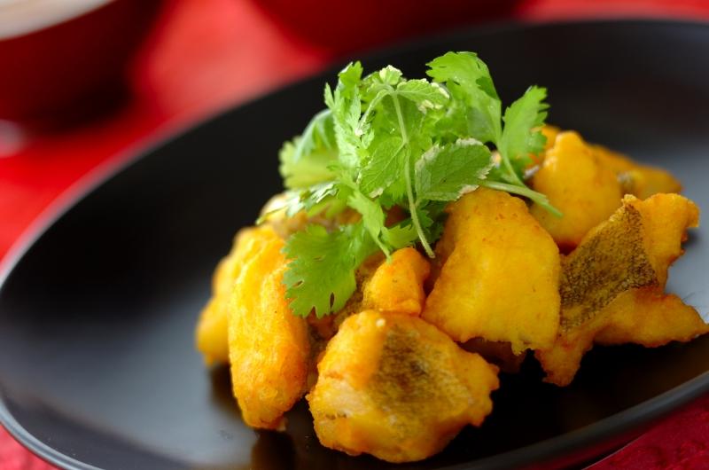 ベトナム風白身魚の天ぷら