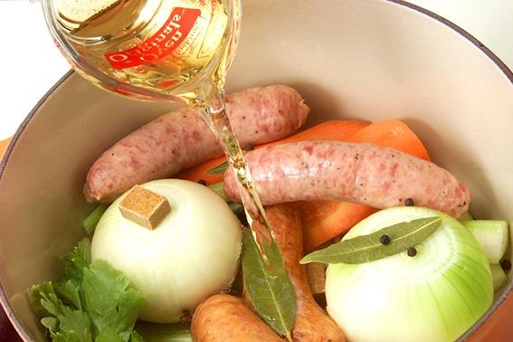 ごろごろ野菜とソーセージのポトフの作り方の手順6