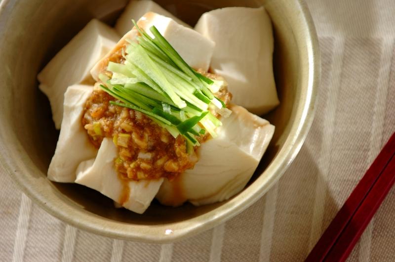 ゴマダレ豆腐の作り方の手順