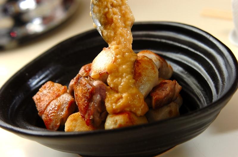 鶏と里芋の甘酒みそだれの作り方の手順5