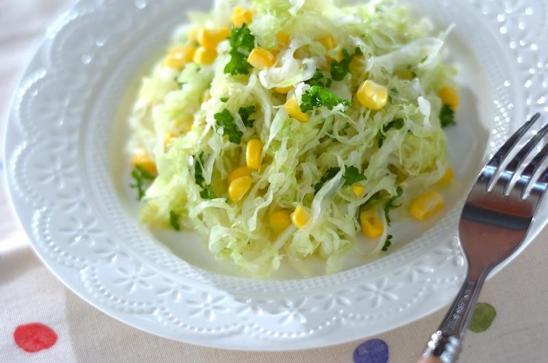 メープルコールスローサラダ