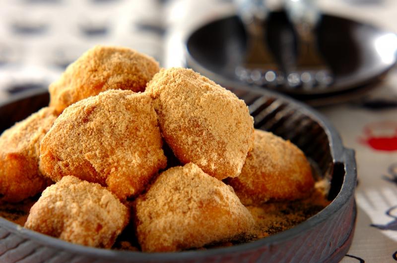 米粉の簡単だんごの作り方の手順
