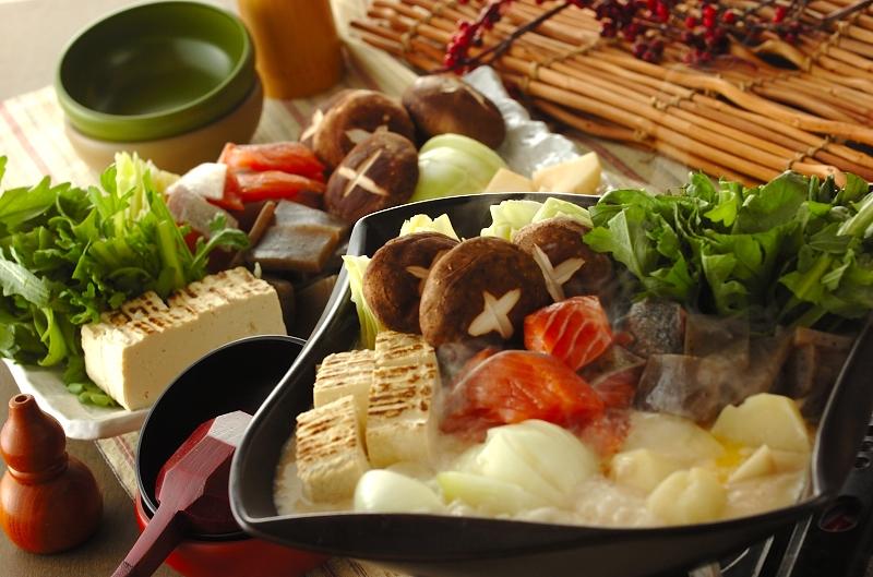 酒粕みそ鍋の作り方の手順