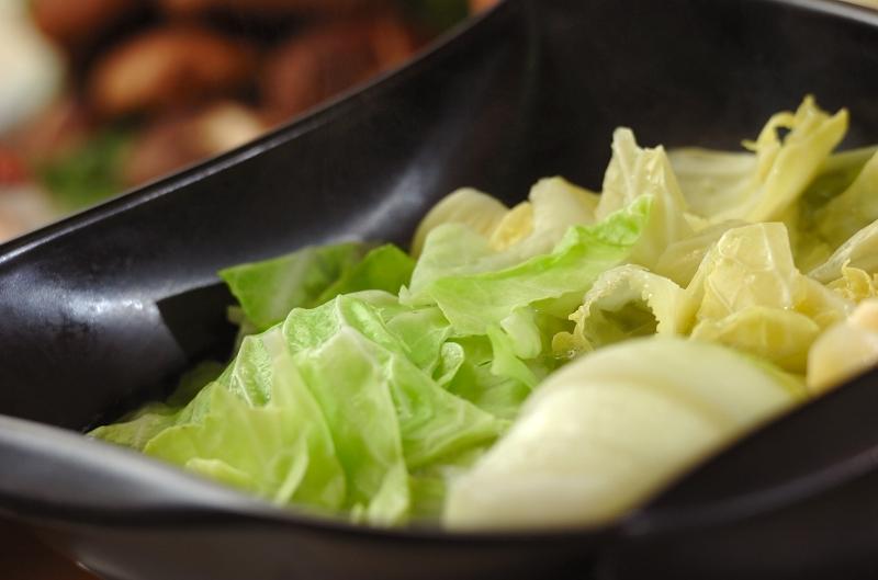 酒粕みそ鍋の作り方の手順5