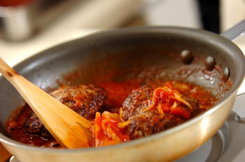 ロコモコ丼の作り方の手順8