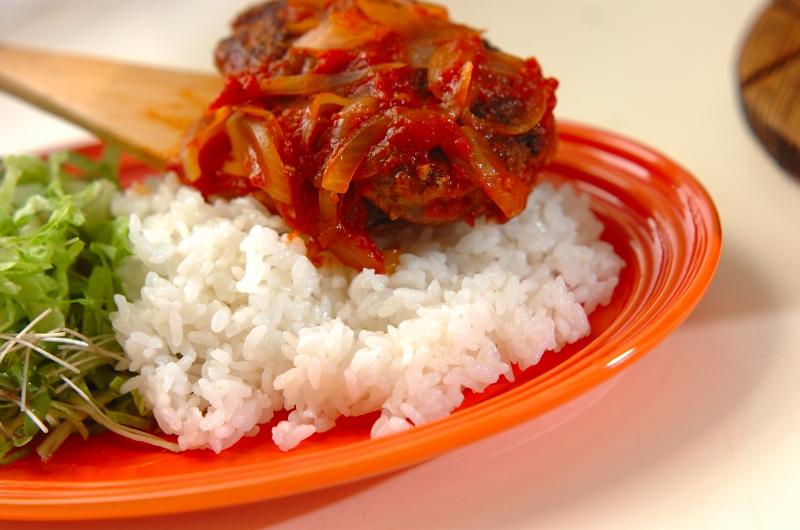 ロコモコ丼の作り方の手順9