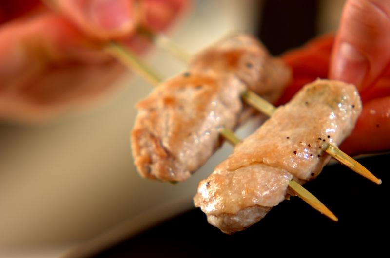 グリーンアスパラの豚肉巻き串の作り方3