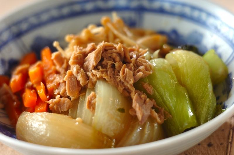いろいろ野菜のくったり煮の作り方の手順