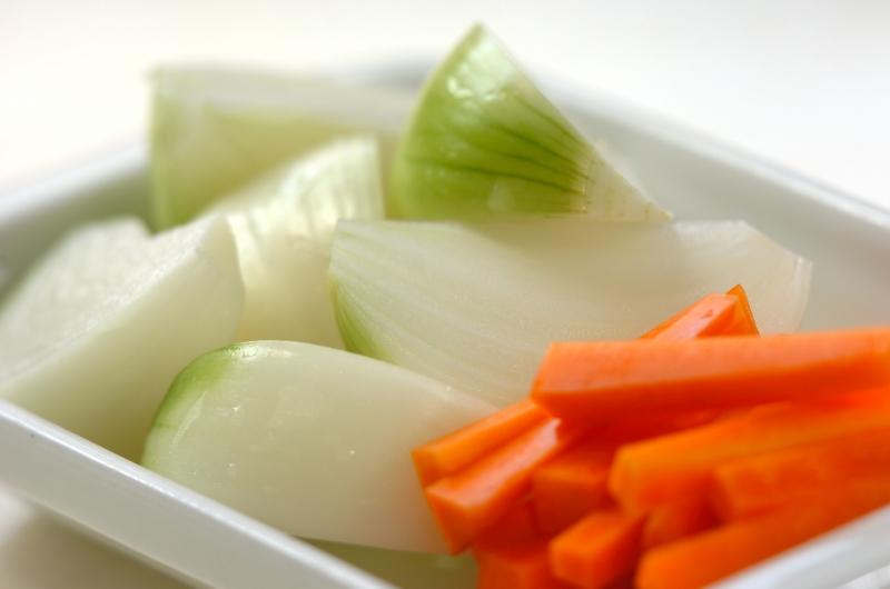 いろいろ野菜のくったり煮の作り方の手順1