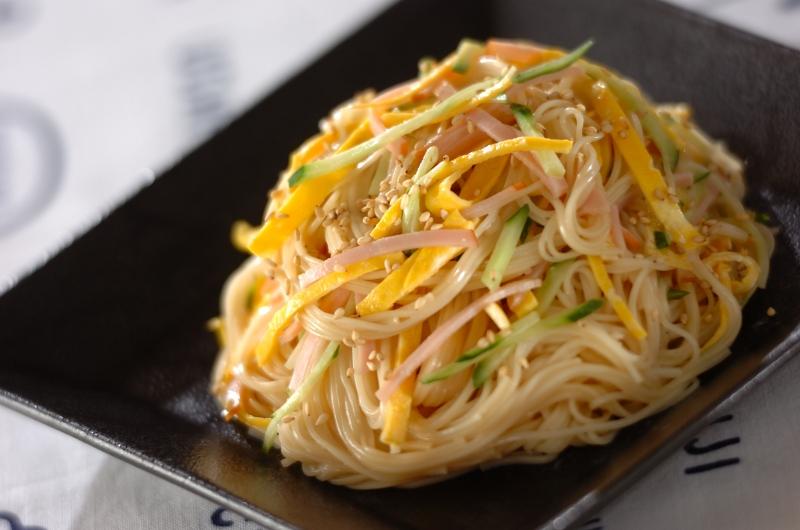 中華風素麺サラダ