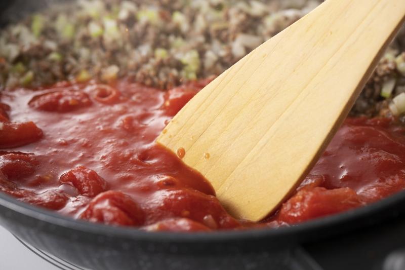 チーズたっぷりミートソースラザニアの作り方の手順5