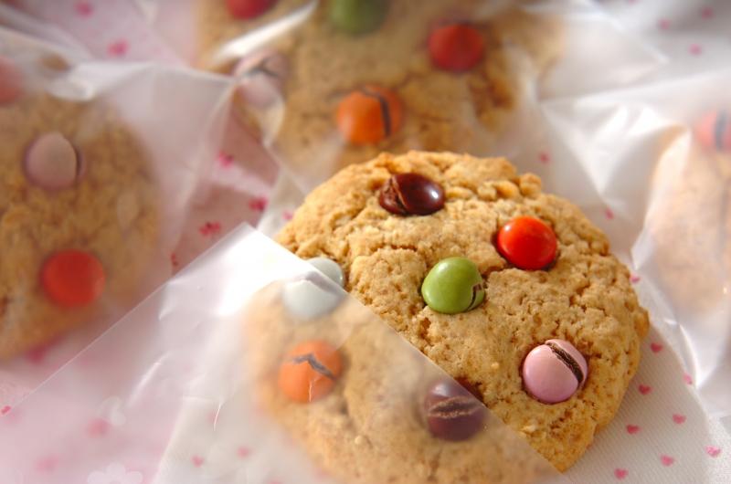 大きなカラフルチョコクッキー