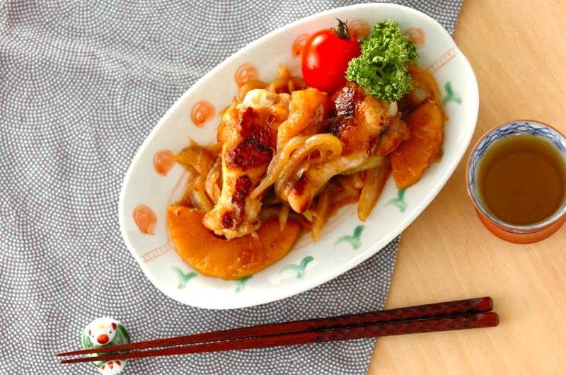 調味料2つ!鶏手羽元のシロップ照り焼きの作り方の手順