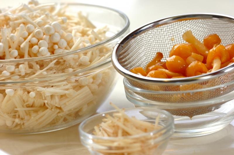 ショウガナメタケのっけご飯の作り方の手順1