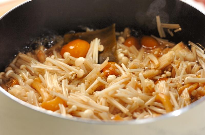 ショウガナメタケのっけご飯の作り方の手順2