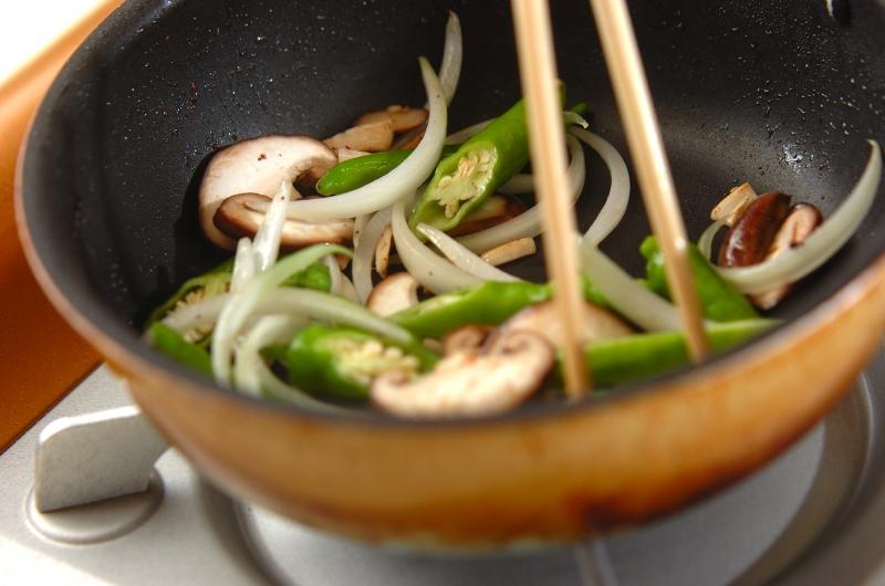 イカゲソのソース炒めの作り方の手順6