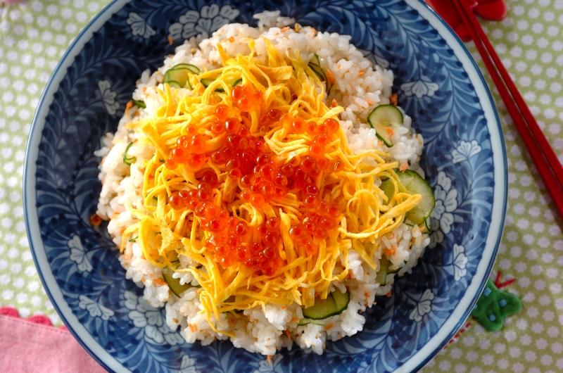 かんたんサケの混ぜ寿司