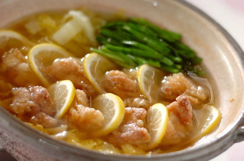 鶏唐レモン鍋