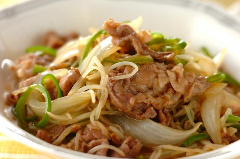 豚とモヤシの中華炒めの作り方の手順