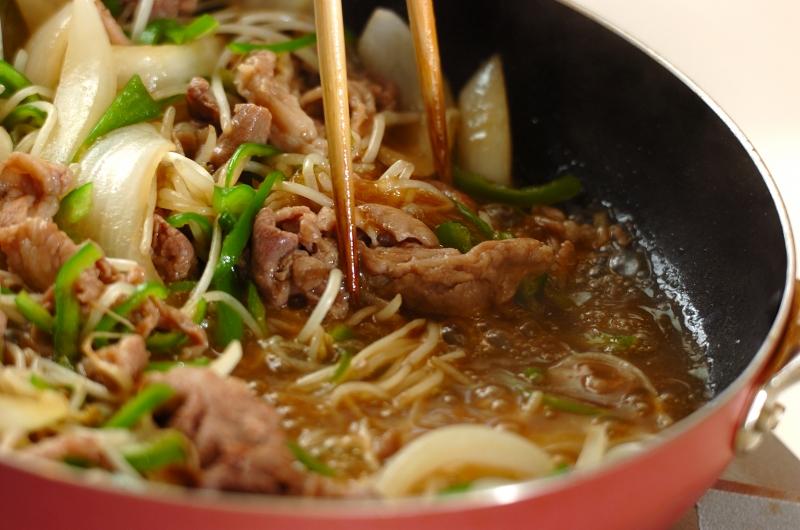 豚とモヤシの中華炒めの作り方の手順6
