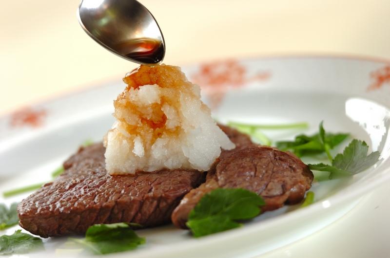 おろしのせステーキの作り方2
