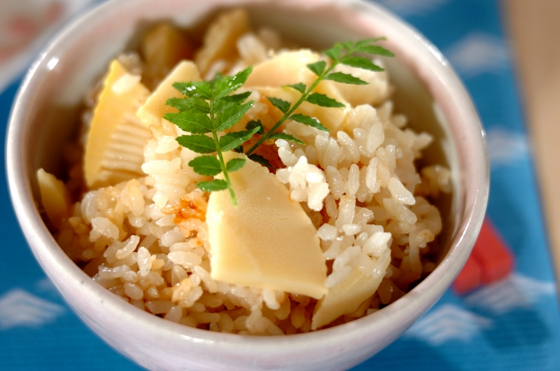 タケノコご飯の作り方の手順