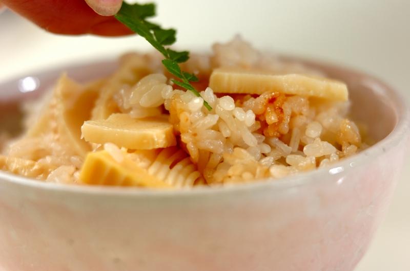 タケノコご飯の作り方の手順3