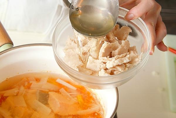 塩鮭の粕汁の作り方の手順7
