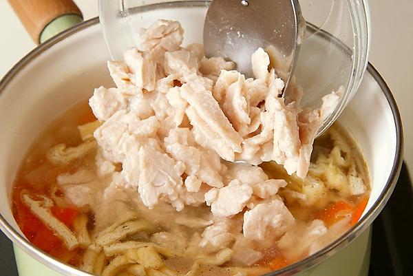 塩鮭の粕汁の作り方の手順8