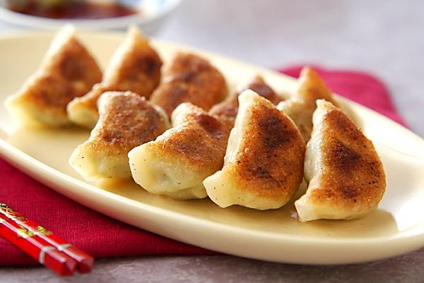 モチモチ焼き餃子