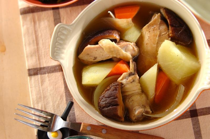 大根と鶏肉のコンソメ煮
