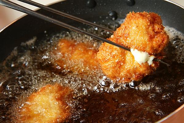 チーズ入りチキンカツの作り方の手順6