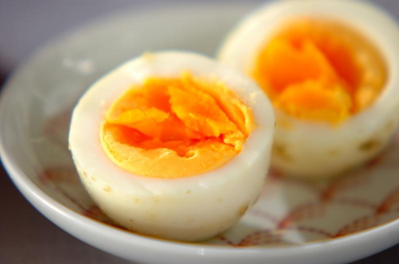 ユズコショウ漬け卵の作り方の手順