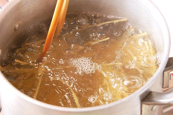 ニンニク香る!タラコスパゲティーの作り方1