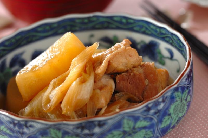 ひと手間で絶品!鶏と大根の煮物