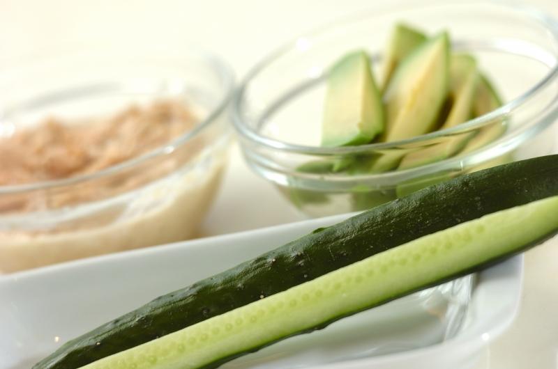 サラダ巻き寿司イクラのせの作り方の手順1