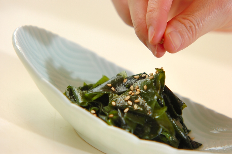 ワカメの中華炒めの作り方の手順3