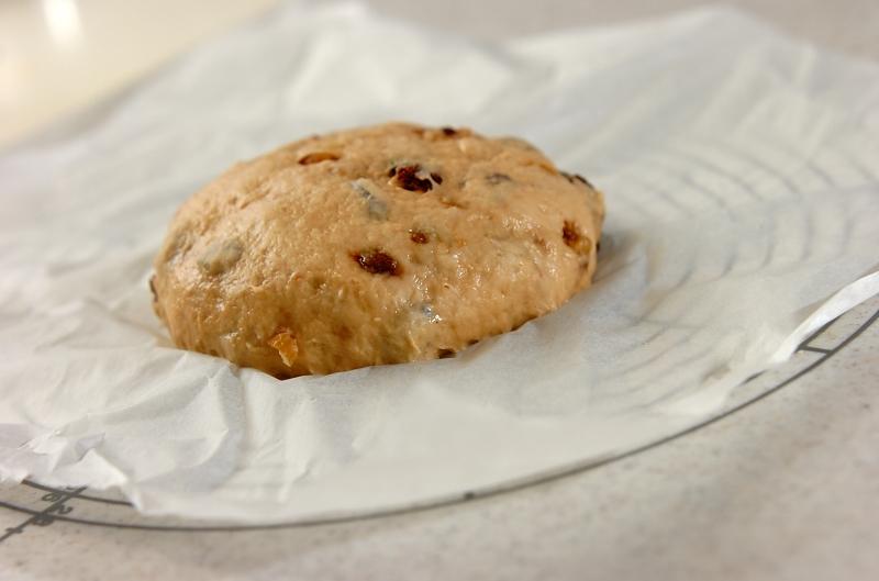 クルミと黒糖の大きな蒸しパンの作り方の手順6