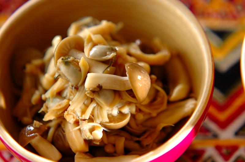 キノコとアサリの煮物