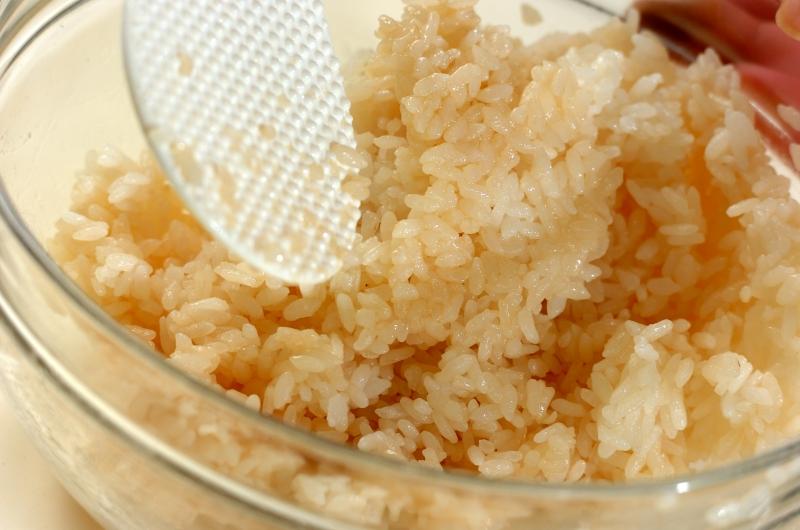 ホタテの中華風ちらし寿司の作り方の手順4