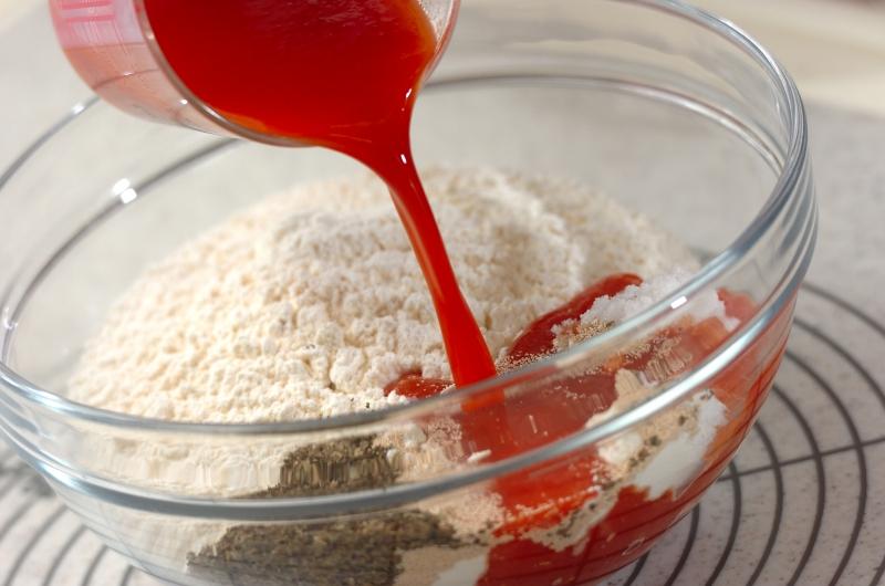 トマトチーズパンの作り方1