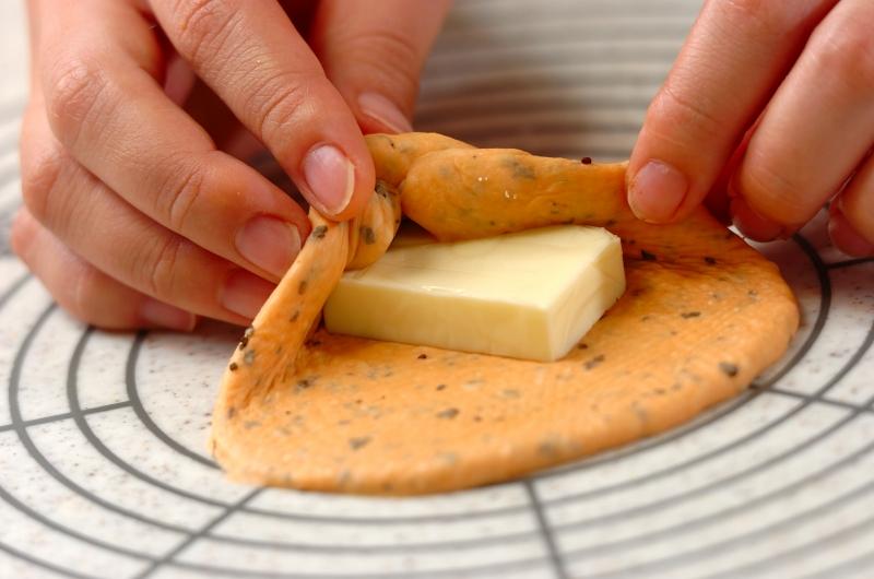 トマトチーズパンの作り方8