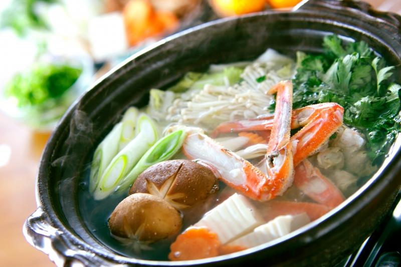 野菜たっぷり!あったかカニ鍋の作り方の手順